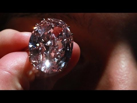 Pink Star Diamond Sells For Record Price / The Diamond Is Set On A Ring