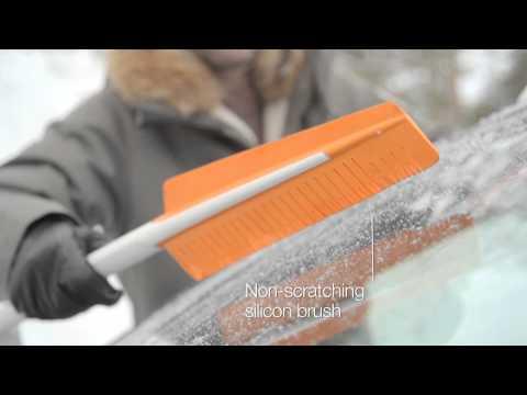 Fiskars SnowXpert børste og isskrape - film på YouTube