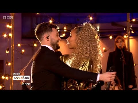 Calum Scott and Leona Lewis – You Are The Reason Live on The One Show +Interview. 14 Feb 2018 (видео)