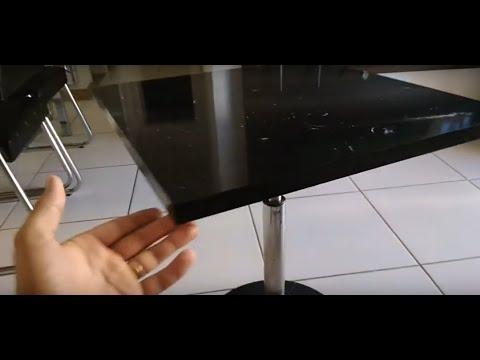 Como fazer uma mesa bistro utilizando base de banqueta.