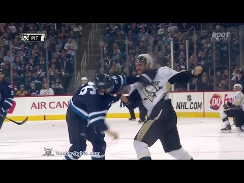 Blake Wheeler vs. Robert Bortuzzo
