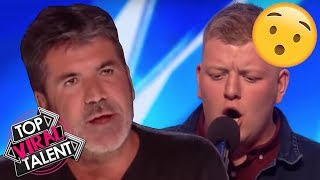 Simon Stops Him and Asks to Sing Different Song, Watch What Happens...