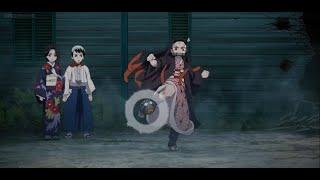 Nezuko Kamado  - (Demon Slayer: Kimetsu no Yaiba) - Kimetsu no Yaiba - Nezuko vs Temari Demon HD