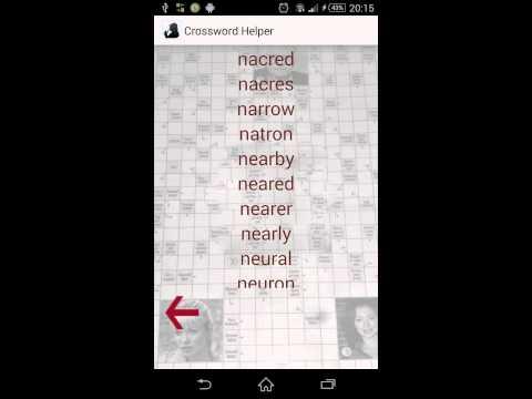 Video of Crossword Helper