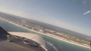 Destin Approach & Landing