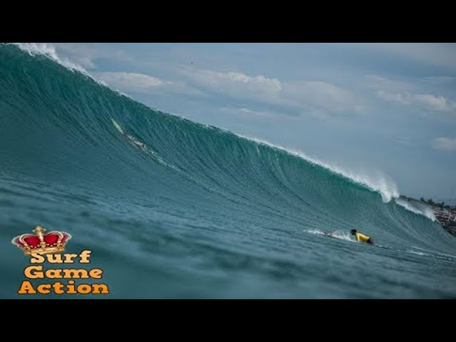 Surfers caught inside massive waves - HOLD YOUR BREATH