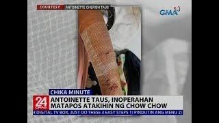 Antoinette Taus, Inoperahan Matapos Atakihin Ng Chow Chow