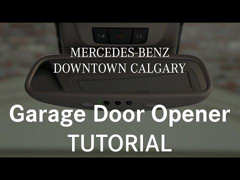 Program Your Mercedes Garage Door Opener Playing