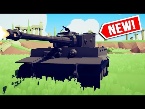 , title : 'I Fight with the *NEW* WW2 TANKS and they're TOO STRONG!!! - Totally Accurate Battle Simulator'