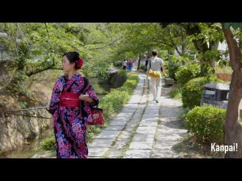 Philosopher's Walk, Kyoto (4K)