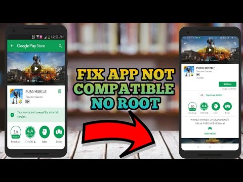 How To Install Incompatible Apps From Android Market For Unsupported Devices|Fix Not Compatible Pubg Mp3