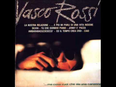 Tu Che Dormivi Piano Vasco Rossi 1978