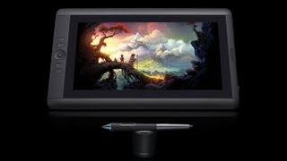 Wacom Cintiq 13 inch HD tablet