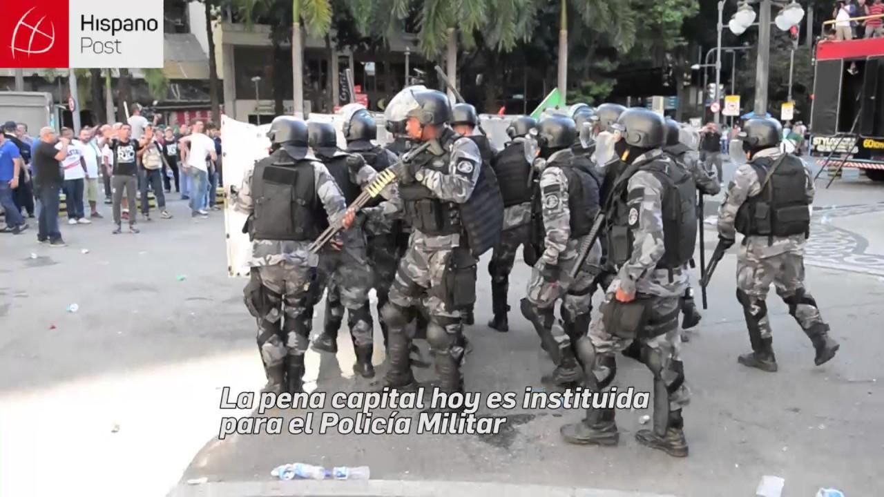 Riesgo en la seguridad publica de Rio