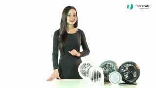 Тепловентилятор Timberk TFH S20SMX от компании F-Mart - видео