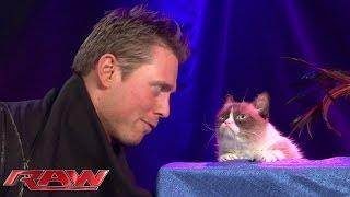 Grumpy Cat Meets The Miz: Raw, November 17, 2014