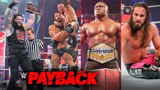 WWE Payback 2020 WINNERS, SURPRISE & Full Results -Roman Wins Universal Title Highlights Predictions - Download this Video in MP3, M4A, WEBM, MP4, 3GP