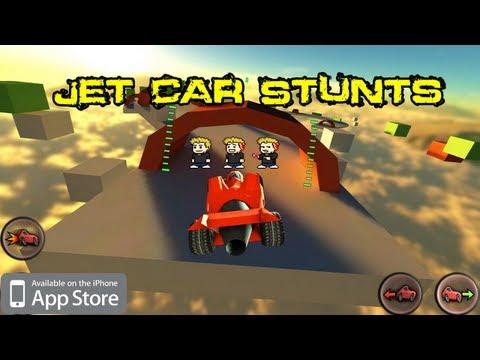 jet car stunts ios review
