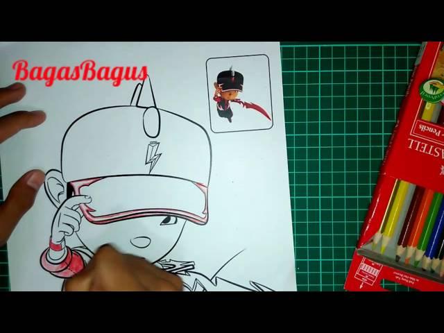 Video Mewarnai Boboiboy Part 3boboiboy Halilintar