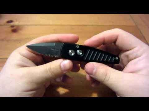 Knife Review :  Protech Stinger (401PSBT) (Small Automatic)