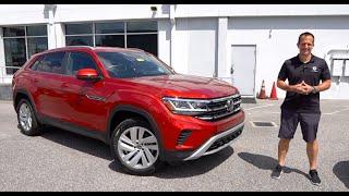 Is The 2020 VW Atlas Cross Sport The BETTER Midsize SUV Than A Honda Passport?