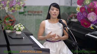 Hướng Dẫn Học Đàn Organ Cơ Bản Bài 1 |Upponia.Com | Tuhocpiano.Com|