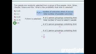 1. GRE Lesson: Introduction to probability
