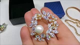🌸💍💎#бижутерия #186💎💍 🌸AliExpress🌸Xuping🌸 Jewelry from China🌸 Jewelry with Aliexpress 🌸 #AliExpress