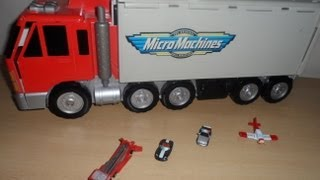 preview picture of video 'RARE MICRO MACHINES LORRY TRUCK THAT OPENING INTO A  CITY'