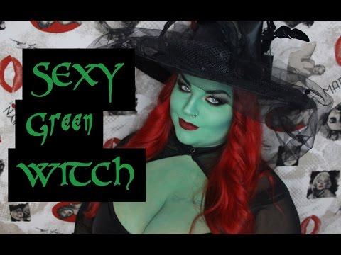 SEXY GREEN WITCH | Easy Hallowenn/Karneval Tutorial | Deutsch | 2017 | HEXE MAKEUP | HD