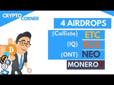 4 airdrops are coming, get ready for Free coins