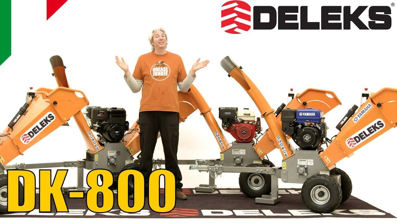 DELEKS® DK-800: Recensione di Edd (Affari a 4 ruote)