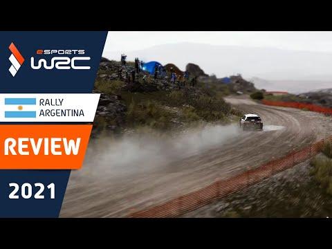 E-sports WRC2021 アルゼンチン ラリーのレビュー動画
