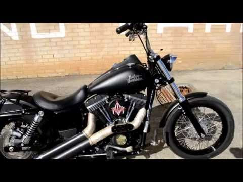 2013 Harley Davidson Dyna Street Bob walk around and start up