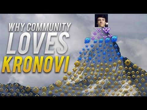 Why Rocket League Community Loves Kronovi! (ROCKET LEAGUE BEST GOALS & FUNNY MOMENTS)