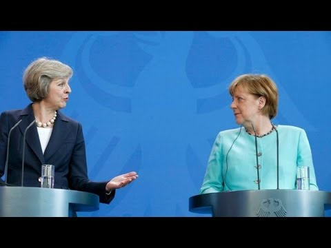 Тереза Мэй провела переговоры с Ангелой Меркель