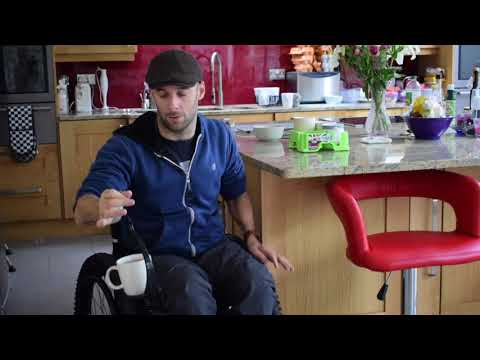 How to Carry Drinks in a Wheelchair | The Active Hands Company