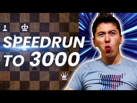 GM Eric Hansen Blitz Speedrun to 3000 | 1200-1500