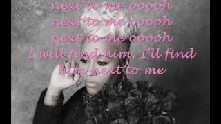 emeli sande- next to me with lyrics on screen
