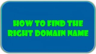 Domain Name Search Done Rightly With Free Tools