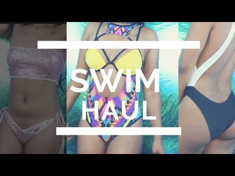 2017 Swimsuit Try On Haul | Inexpensive ft. Aliexpress & Lovelywholesale