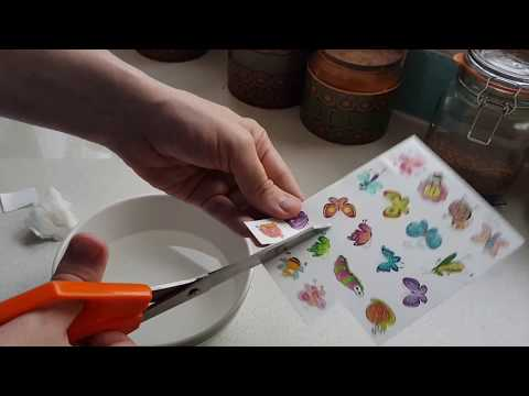 Instructions How to apply kids Children's Fake Temporary  Tattoos for Kids Parties