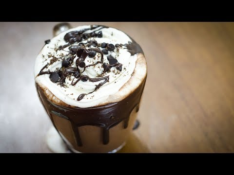 FLOATING HOT CHOCOLATE RECIPE I HOMEMADE HOT CHOCOLATE RECIPE