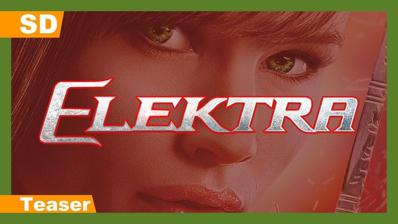 Video trailer för Elektra (2005) Teaser