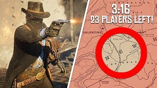 Red Dead Redemption 2 Online *NEW* Battle Royale *GUN RUSH* Game Mode! (Red Dead Online DLC Update)