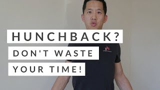 This hunchback posture exercise doesn't work!