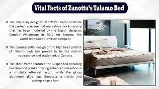 Archetypen brings in an exquisitely designed luxury bed of Talamo Zanotta