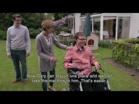 CoughAssist E70TM Clinician and Patient Experience FRENCH with English Subtitles