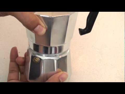 Como Hacer Café Expreso y Cubano con la Cafetera IMUSA -Espresso
