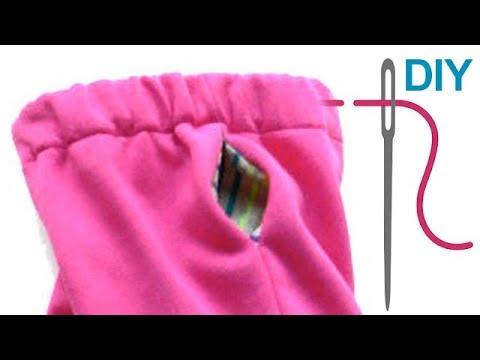 Eingrifftaschen nähen für Anfänger – DIY Seitliche Taschen für Hosen und Oberteile